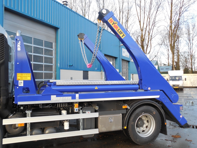 Hyva Lift portaal containersysteem